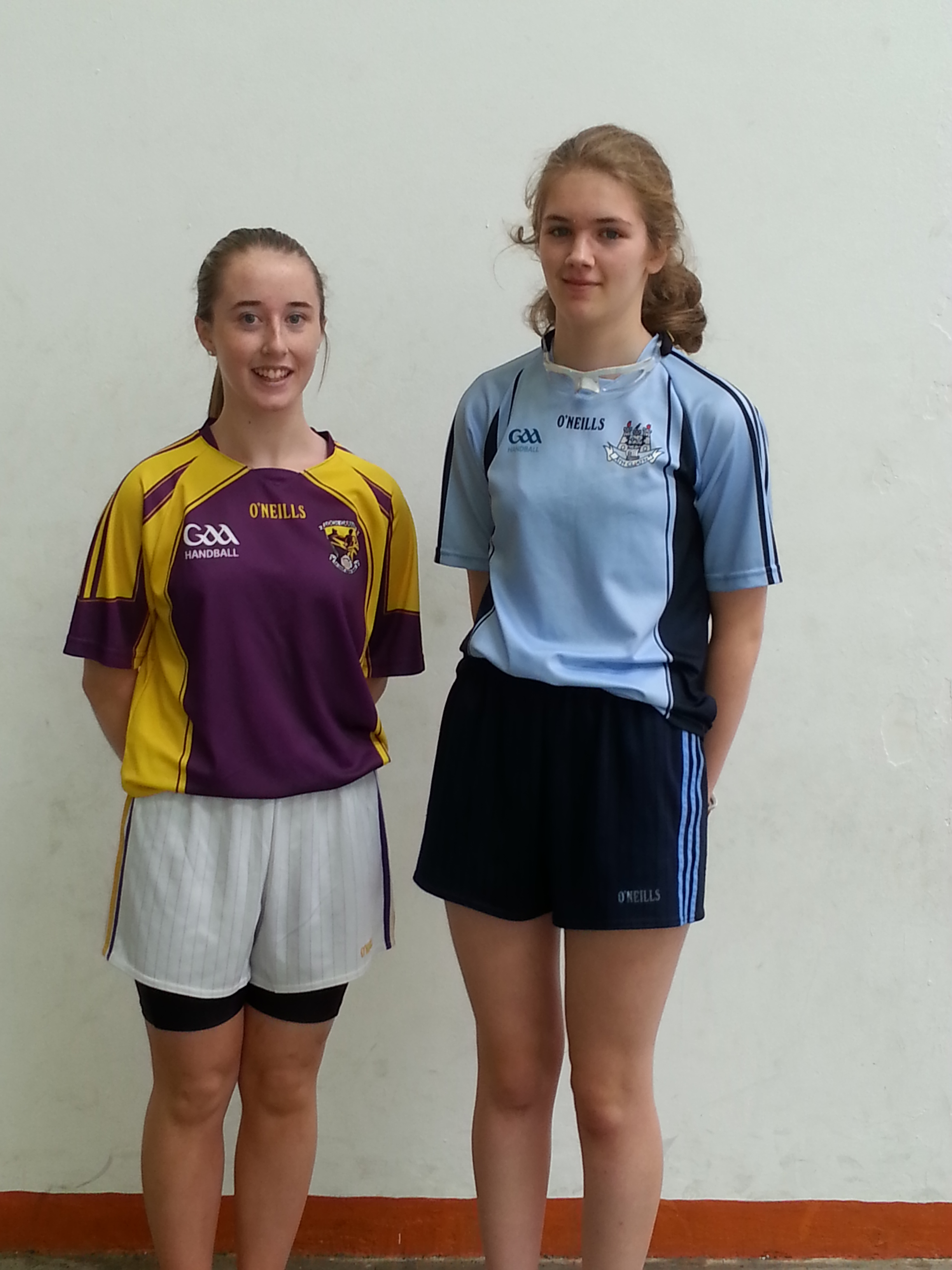 Courtney Browne, Coolgreany who represented Wexford against Dublin this year