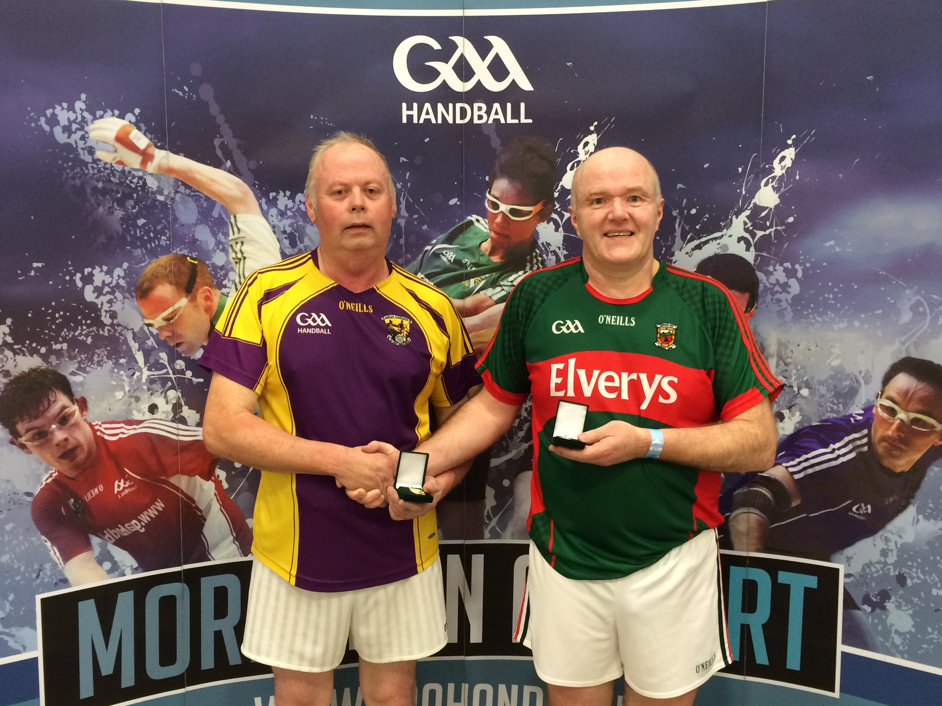 ea77ecc6536 A victorious Mick Armstrong following his victory over Tom McCormack